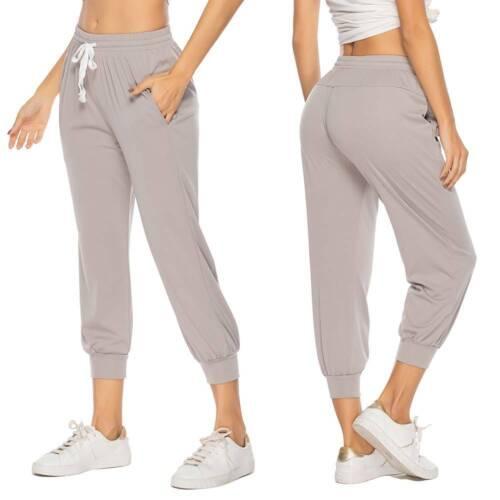 Womens Joggers Trousers Ladies Tracksuit Bottoms Jogging Gym Pants Lounge Wear K