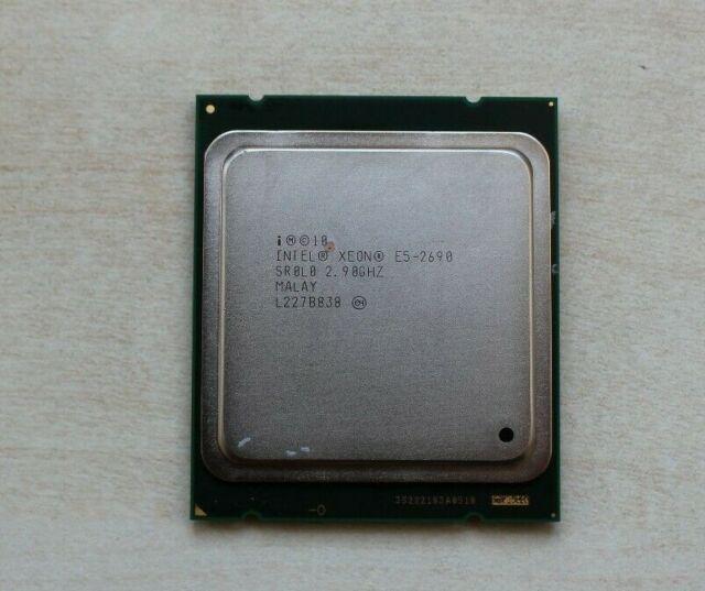 Intel Xeon E5-2690 2.9GHz 8-Core 20M SR0L0 Lga 2011 Procesador CPU C2-dañado