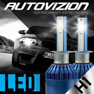 AUTOVIZION LED HID Headlight Conversion kit H1 6000K for