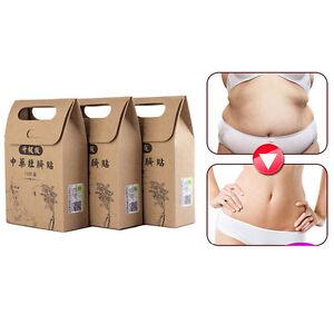10-Tradition-Chinese-Medizin-Navel-Aufkleber-Fat-Burner-Gewichtsverlust-Deko