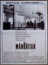 MANHATTAN Affiche Cinéma 55x40 Movie Poster WOODY ALLEN