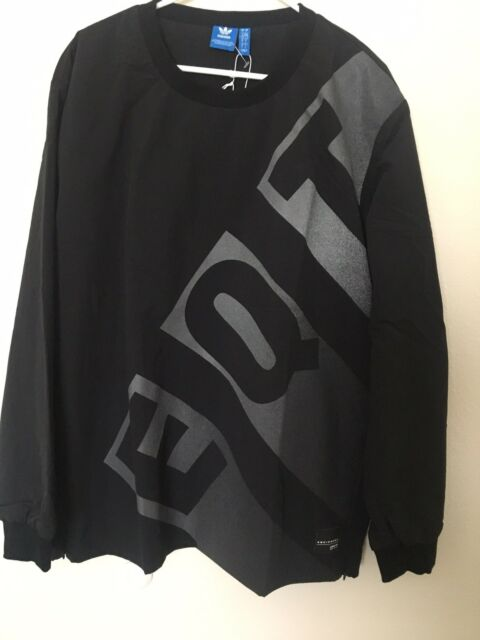 063e4776b8d8 Men s adidas EQT Nylon Crew Pull Over Reflective Sz Large