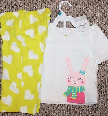 96001304844b New! Girls Carter s 2 pc Pajama Set (Fleece  PJ  Sleepwear) - Size ...
