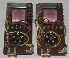 2 Telefunken Netztrafo f Röhrenverstärker Transformer 6,3 V 275 V 7