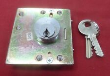 True Medeco Lower Lock w/ 2 Keys GTE Palco Quadrum Payphones Pay Phone Payphone