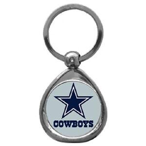 Dallas-Cowboys-Chrome-Metal-Keychain-New-Team-Logo-Key-Chain-Jewelry-NFL
