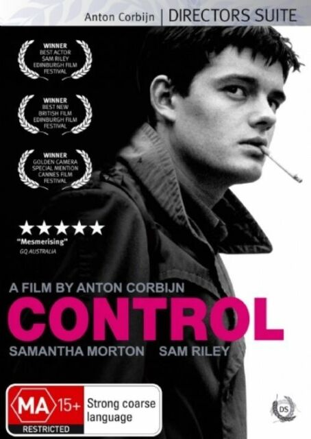 Control (DVD, 2008) Anton Corbijn Director's Suite Ian Curtis Rare OOP Like New!