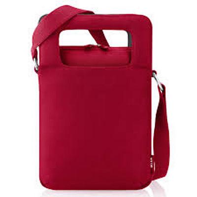 Belkin Custodia Protettiva Per Fino A 10.2 Pollici Netbook Neoprene Rosso Borsa F8n161eajir- Reputazione In Primo Luogo