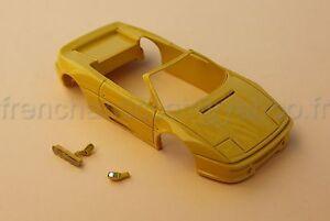 Mo Voiture Ferrari F355 355 Spider Coque Collector Jaune 1/43 Heco Modeles