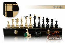 Slender HIGHLANDER Large 49cm /19.3in Wooden Chess Set