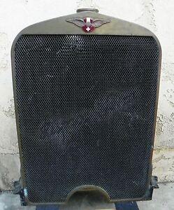 Hispano-Suiza H Series Complete Original Radiator #21480 & Lower Water Manifold
