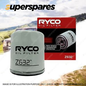Ryco Oil Filter for Mazda 3 BK BL 5 CR CW 6 GH GJ BT-50 DX CX-7 MPV MX-5 TRIBUTE