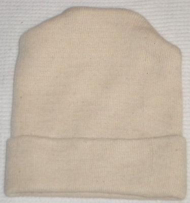 Newborn  Hat Latex Free New Solid White