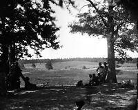 8x10 Civil War Photo: View Of The Cedar Mountain Battlefield, 1862