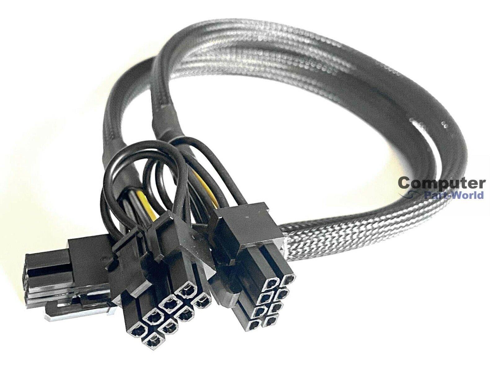 8+8pin PCI-E VGA Power Supply Cable for EVGA SuperNOVA 750 850 1000 1300 G+ 50cm
