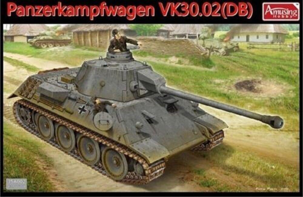 AMUSING HOBBY GERMAN PANZERKAMPFWAGEN VK30.02(DB) Scala 1 35 Cod.35A002