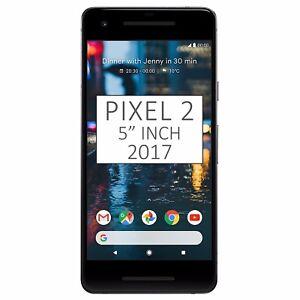 Nuevo-Y-En-Caja-5-034-pulgadas-Google-Pixel-2-2017-G011A-128GB-Negro-Desbloqueado-de-fabrica-4G