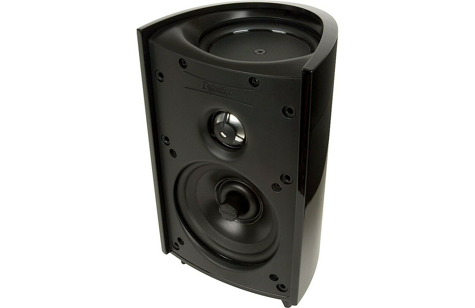 Definitive Technology ProMonitor 800 Satellite Bookshelf Speaker Pair w//BDSS Drivers Pure Aluminum Dome Tweeters /& Planar Pressure Coupled Mid//Bass Radiators for Home Theater Sound Quality Black