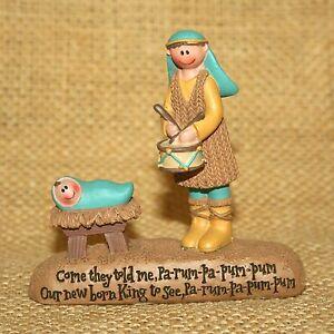 Drummer-Boy-Manger-Our-New-Born-King-Blossom-Bucket-Resin-Religious-Figurine