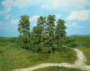 Heki-1642-Nature-Arbres-12-Pieces-Vert-Fonce-NEUF