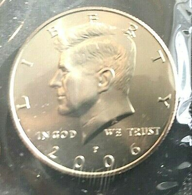 2005 P and D Kennedy Half Dollar Coin from US Mint Set 2 BU Cello Fifty Cent UNC