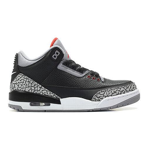 Size 15 - Jordan 3 Retro OG Black Cement 2018 for sale online | eBay