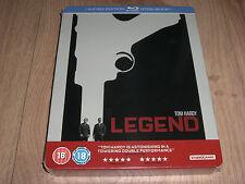 Legend Blu-Ray Steelbook mit Prägung Tom Hardy NEU