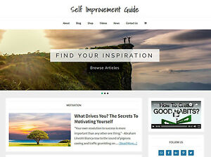SELF-IMPROVEMENT-blog-store-premade-website-business-for-sale-AUTO-CONTENT