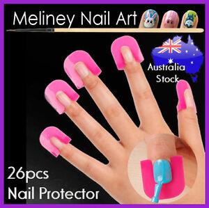 26pc Nail Protector For Polish Application Nail Art Tool Manicure