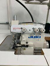 Juki Mo 6704 S Industrial Serger 3 Thread With Servo Motor