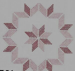 NEW 18 IN QUIILT BLOCKS TO EMBROIDER YOU GET  12   JD