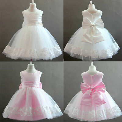 Wedding Bridesmaid Flower Girl Party Baby Communion Occasion Dresses Age 1-9 Yrs