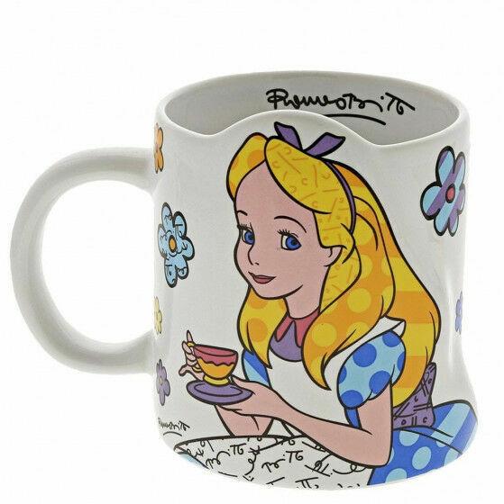 Disney Britto 6002653 Alice in Wonderland Mug
