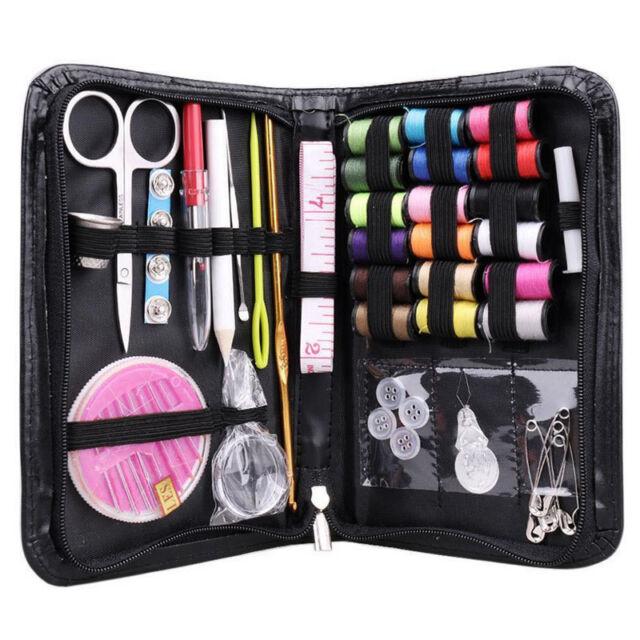 38Pcs of Set Home /Travel Thread Threader Needle Tape Measure Scissor Sewing Kit