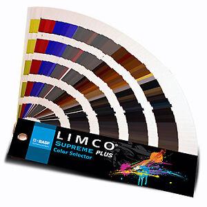 BASF Limco Supreme Plus 700+ Color Selector Fan Deck | eBay