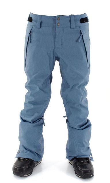 O'Neill Glamour Womens Snowboard Snow Ski Pants blueish Denim Slim Fit Large