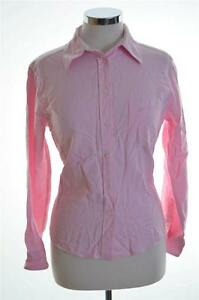 Daniel-Hechter-Womens-Shirt-Size-34-Small-Pink-Cotton