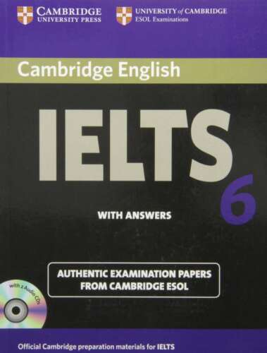 1 of 1 - Cambridge IELTS 6 Self-study Pack: Examination papers from University of Cambrid