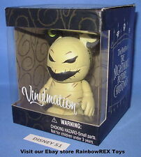 "DISNEY VINYLMATION 3"" THE NIGHTMARE BEFORE CHRISTMAS OOGIE BOOGIE MINT IN BOX"