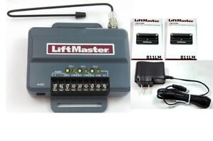 850lm 85lm Pwr 2 X 811lm Liftmaster Security 2 0 Universal Receiver Kit Csw24v 12381998500 Ebay
