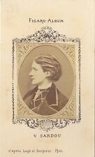 Victorien Sardou Figaro-Album carte de visite albumine ca 1875