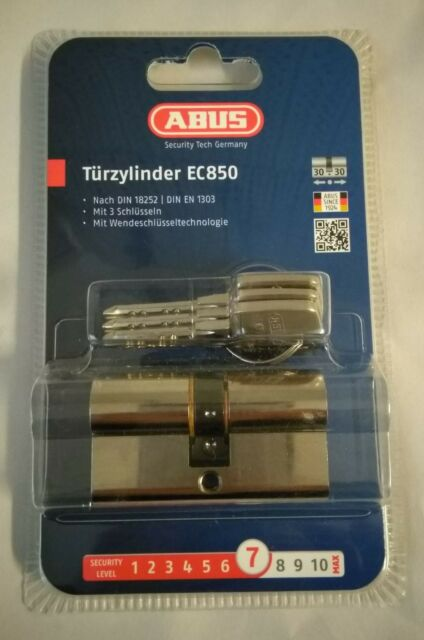 ABUS EC850 Extra Classe Tür Zylinder 30//35 mm Neu /& Ovp inkl.3 Schlüssel