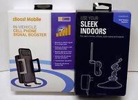 Zb Sb H Car + Home Phone Signal Booster Amplifier Help Boost Verizon Voice Call