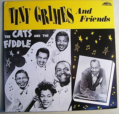 Tiny Grimes & Friends LP~Cats & The Fiddle~Dixieaires~Johnny Davis~Krazy Kat UK
