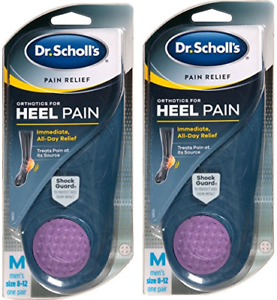 5fd1cbd84a Dr. Scholl's Pain Relief Orthotics for Heel for Men, 1 Pair, Size 8 ...