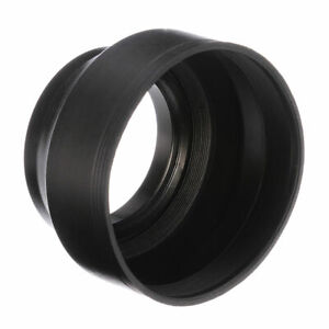 58mm-Rubber-Lens-Hood-3-Stage-Collapsible-Fr-Canon-Nikon-Sony-Pentax-DSLR-Camera