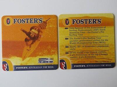 2002 Untersetzer ~ FÖrdern Die Brewery = Australische Für Bier ~ Pro Surfen Exquisite Traditionelle Stickkunst Bier & Bierdeckel
