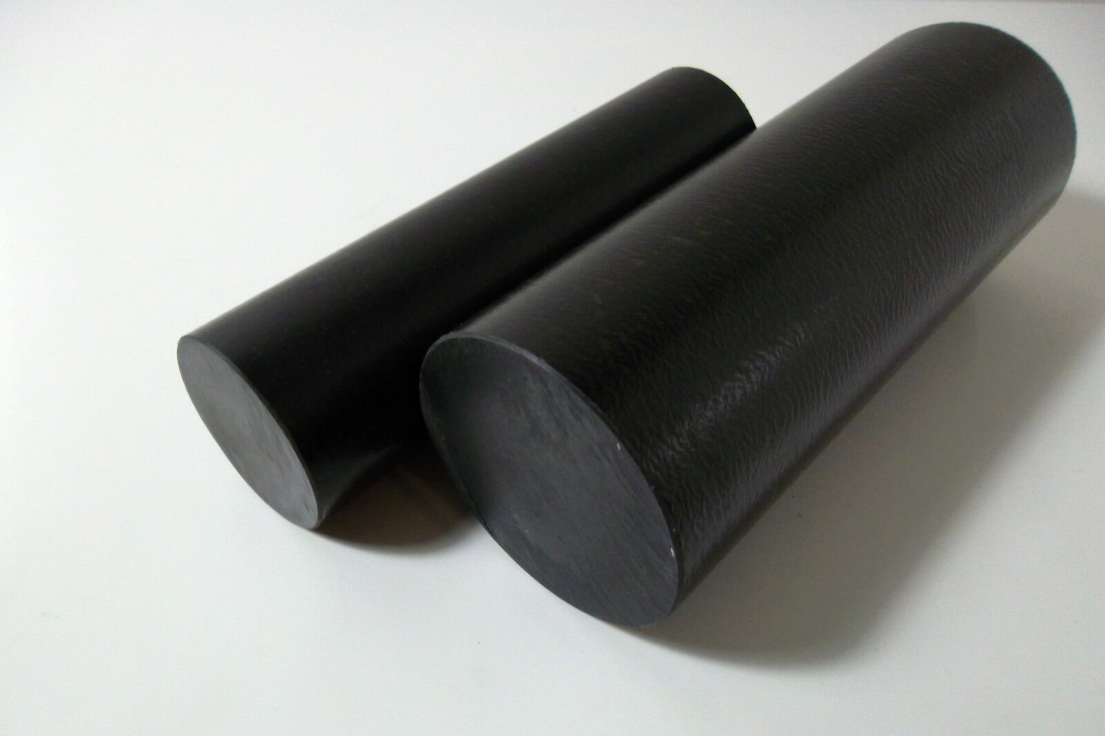 7018) PEEK 72mm ,etheretherketone,negro, Ø 52mm y Ø 72mm PEEK 277b15