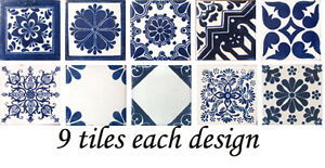 SPECIAL-90-Mexican-Tiles-Ceramic-Talavera-Clay-4-034-x4-034-Tile-different-designs-001