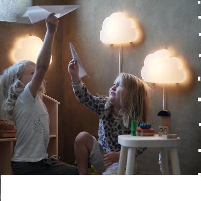 UPPLYST flower lilac, LED wall lamp IKEA